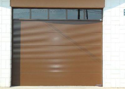 Instalacion de puertas seccionales